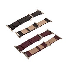 Leather Band 2-pack for 42mm Apple Watch®