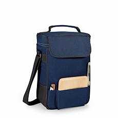 Legacy by Picnic Time Duet Wine & Cheese Tote - Navy Blue