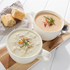 Legal Sea Foods Clam Chowder/Lobster Bisque 2-Quart  AS