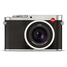 Leica 19022 Q Type 116 Silver Anodized Digital Camera
