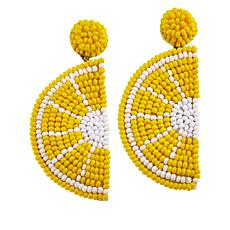 Lemon Way Novelty Drop Earrings