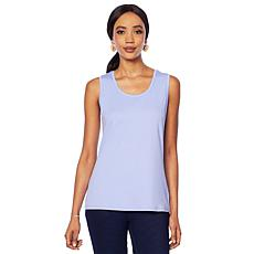Lemon Way Perfect Pima Scoop-Neck Tank - Fashion