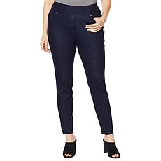 Lemon Way Wonder Stretch Knit Denim Pull-On Jegging