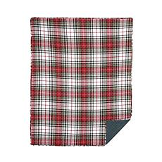 Lennox Plaid Throw