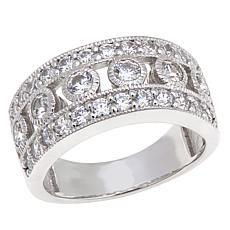 "Leslie Greene 1.14ctw CZ ""Harlow"" Band Ring"