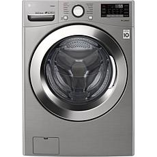 LG 4.5 Cu. Ft. Ultra Large Smart Front Load Washer - Graphite Steel