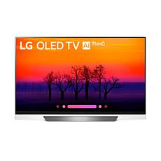 "LG 55"" 4K HDR Smart OLED E8PUA Series TV with AI ThinQ"