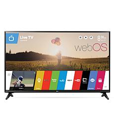 "LG 55"" Full HD Smart TV with Built-In webOS 3.5 and HDMI Cable"