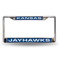 License Plate Frame - University of Kansas