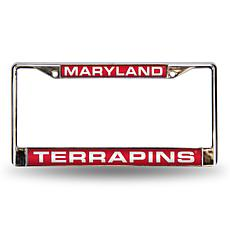License Plate Frame - University of Maryland
