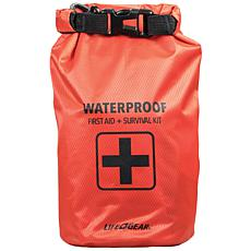 Life+Gear 41-3820 130-Piece Dry Bag First Aid and Survival Kit