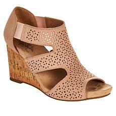 LifeStride Heidi Perforated Wedge Sandal