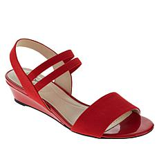 LifeStride Yolo Slip-On Slingback Wedge Sandal