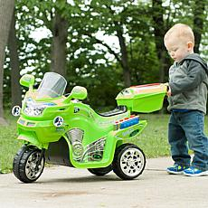 Lil' Rider 3-Wheel Battery-Powered FX Sport Bike - Green