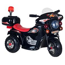 Lil' Rider SuperSport 3-Wheel Battery-Operated Motorcycle  - Black