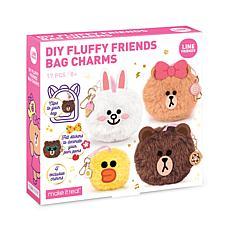 Line Friends DIY Fluffy Friends Pom-Pom Bag Charms