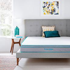 "Linenspa Essentials 8"" Gel Memory Foam Hybrid Mattress - Twin"