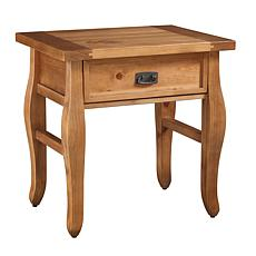 Linon Home Phoenix End Table - Brown