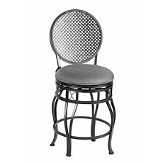 Linon Home Wade Counter Stool - Black