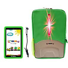 """LINSAY 7"""" 16GB Kids Tablet Android 10 with Backpack"""