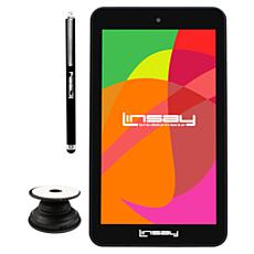 """LINSAY 7"""" Android 10 16GB Tablet"""