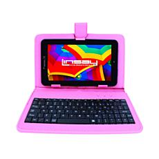 """LINSAY 7"""" Android Tablet with Keyboard Case"""