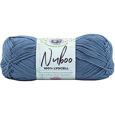 Lion Brand Nuboo Yarn - Denim