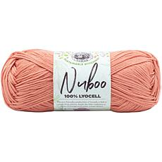 Lion Brand Nuboo Yarn - Salmon