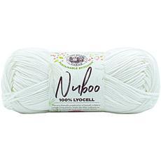 Lion Brand Nuboo Yarn - White