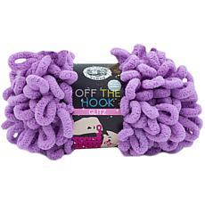 Lion Brand Off The Hook Glitz Yarn - Evergreen