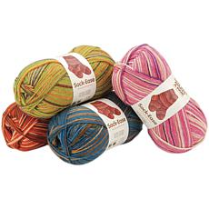 Lion Brand Sock-Ease Yarn - Cotton Candy