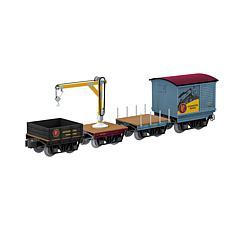 Lionel The Polar Express Elf Work Train 4-Pack