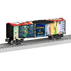 Lionel Trains Looney Tunes Duck Dodgers O Gauge Model Train Boxcar