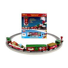 Lionel Trains Mickey's Holiday to Remember O-Gauge Train Set w/Remote