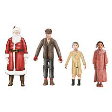 Lionel Trains Warner Brothers Polar Express 4-pc People Pack w/ Santa