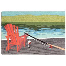 Liora Manne Handtufted Frontporch Lakeside Rug