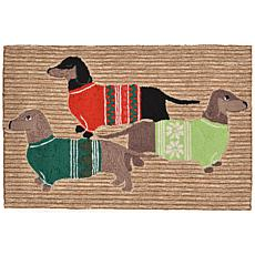 "Liora Manne Holiday Hounds Rug - 24"" x 36"""