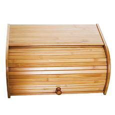 Lipper Bamboo Rolltop Bread Box