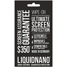LiquidNano Ultimate Wipe-on Screen Protector w/$350 Screen Assurance