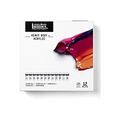 Liquitex Heavy Body Acrylic Essentials Set of 12