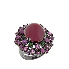 Lisa Klein Ruby and Multigemstone Ring