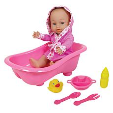 Lissi Doll Baby with Bathtub