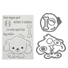 Little Darlings Adorable Puppy Dog Stamp and Die Set