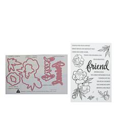 Little Darlings Friendship Bloom Stamps and Dies