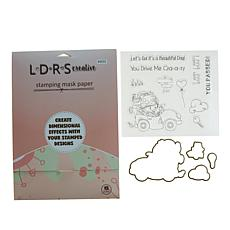 Little Darlings Mini Winnie Let's Go Stamp & Die Kit