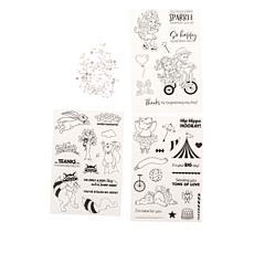Little Darlings On The Move Interactive Stamps 3-piece Set