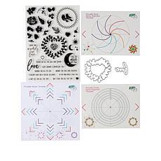 Little Darlings Pirouette Love Pattern Builder Stamps & Dies/Auto-Ship