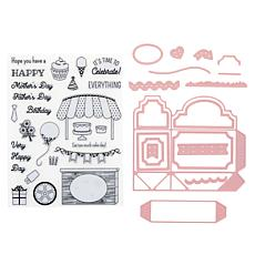 Little Darlings Pop-Up Box Card Dies and Stamps Set