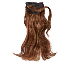 "Locks & Mane Butterscotch 14"" Human Hair Clip Ponytail"