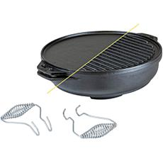 """Lodge 14"""" Cast Iron Cook-It-All"""